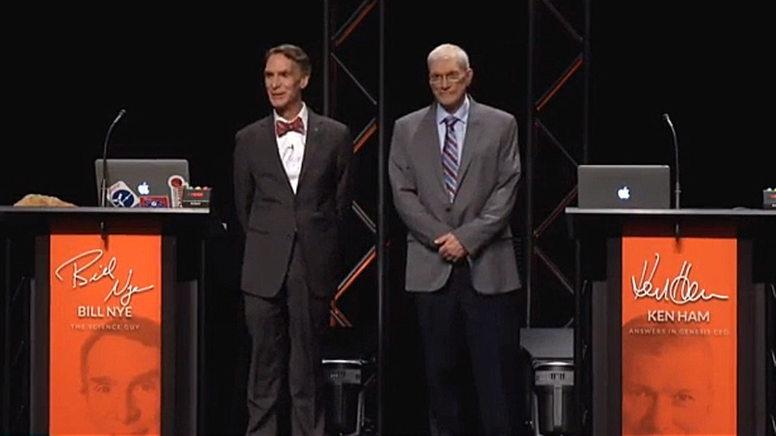 A look into the debate of bill nye and ken ham about evolution and creationism